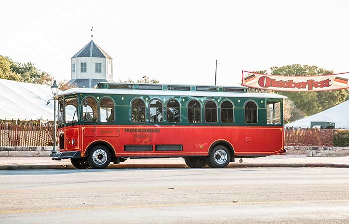 Fredericksburg Trolley Tours in TX
