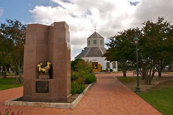 Trolley tour of Fredericksburg, TX