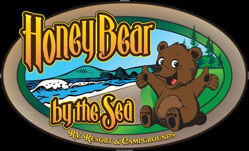 Honey Bear by the Sea Logo