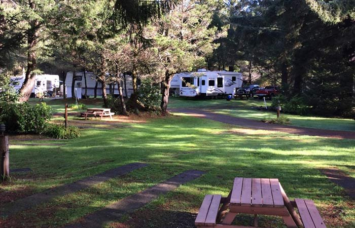 Sites at Honey Bear by the Sea RV and Campground