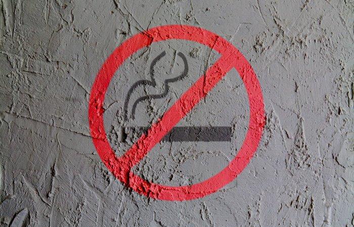 Smoking prohibited symbol