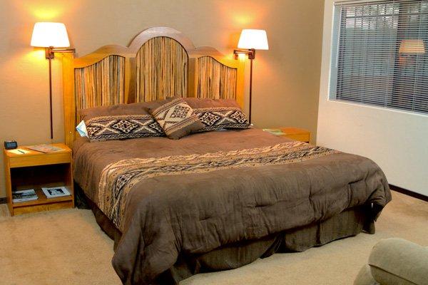 A bed
