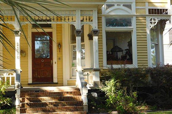 A front door