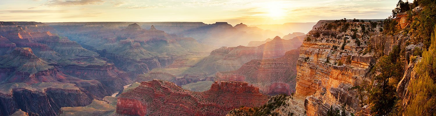 Sunrise over the Grand Canyon