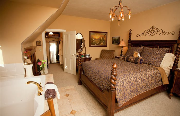 Guest Room at Westphal Mansion Inn in Hartford, WI