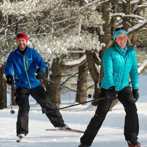 Cross Country Skiing at the Wilmington Inn
