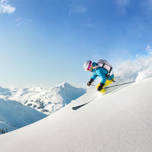 Skiing on Mount Snow at the Wilmington Inn