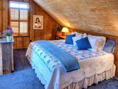 East Room at Historic Kuebler Waldrip Haus in New Braunfels, TX