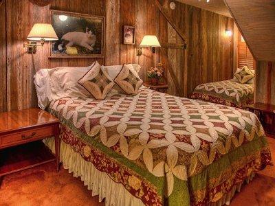 Guilbeau Room at Historic Kuebler Waldrip Haus in New Braunfels, TX
