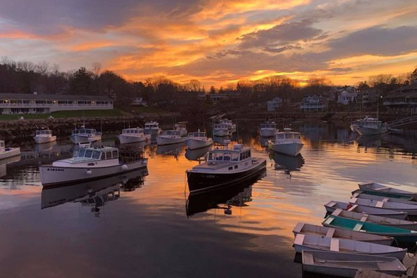 Haven by the Sea Perkins Cove at sunset