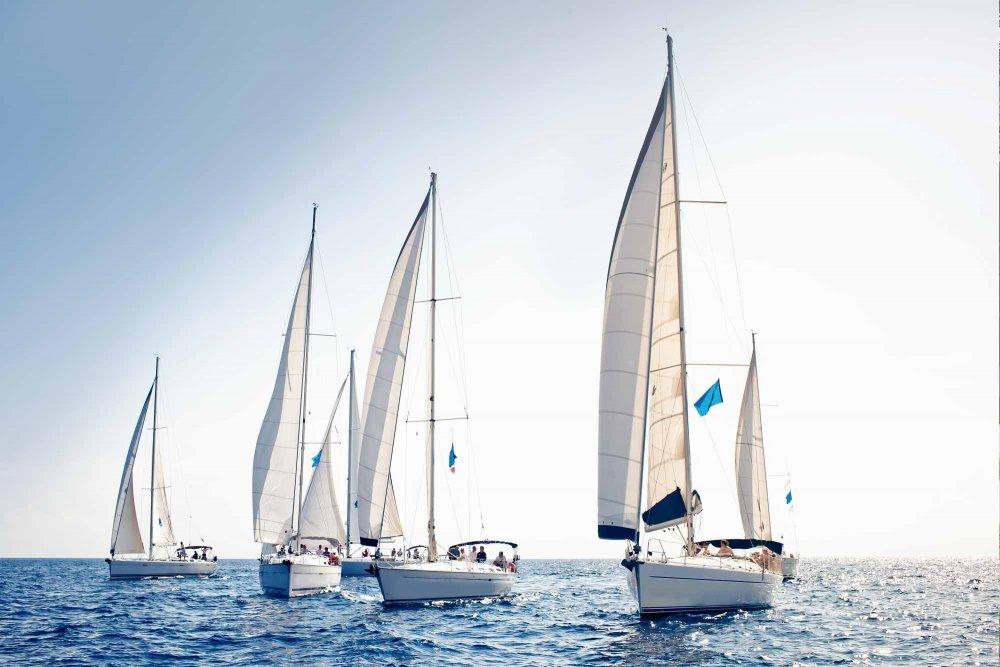 A sailboat