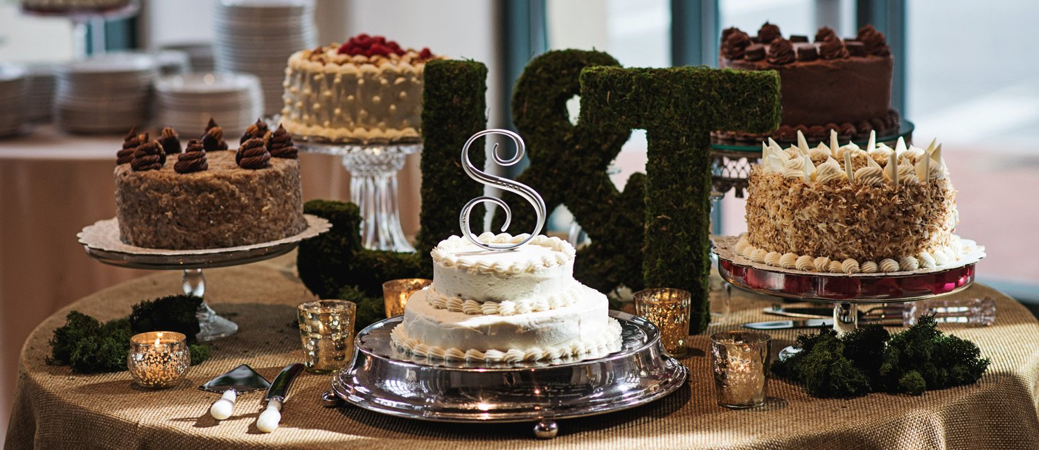 Sarah's on the Square restaurant cake catering