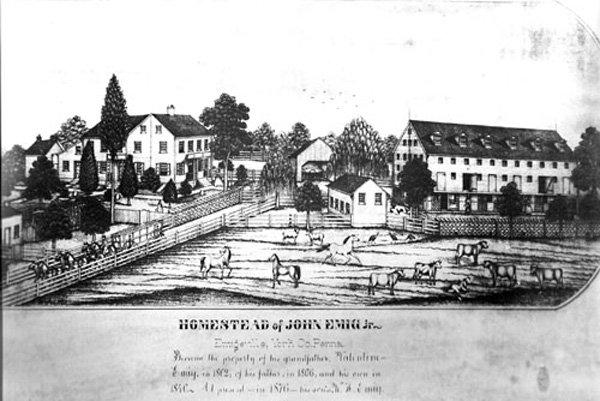 Historical sketch of Emig Mansion