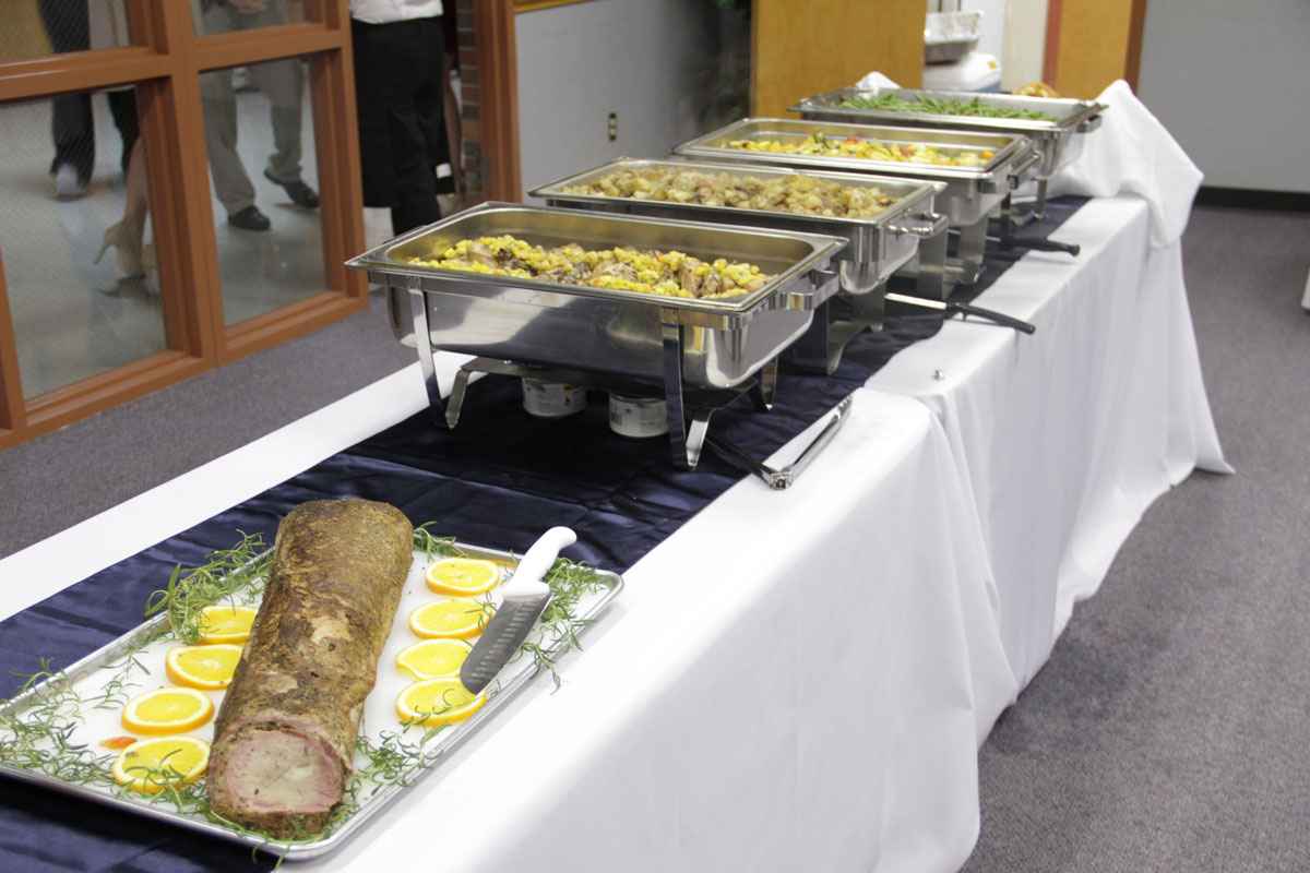 Catering at the Oaks Bed and Breakfast in Sulphur Springs, Texas
