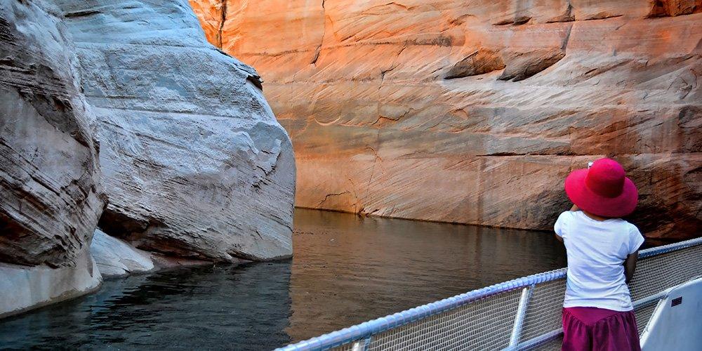 Antelope Canyon Boat Tour on Lake Powell