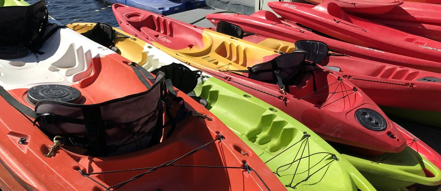 Kayak Rentals at Antelope Point Marina