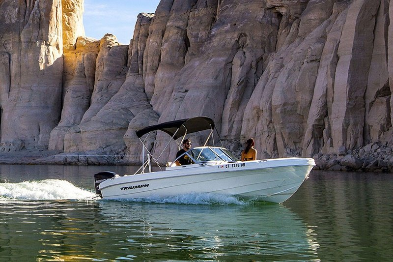 Lake Powell Ski Boat Rentals available at Wahweap Marina