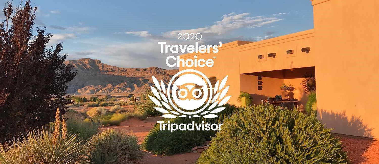Dreamkatchers Lake Powell Bed & Breakfast winner of Tripadvisor's 2020 Travelers' Choice