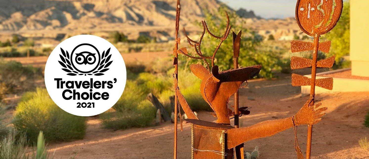 Best Place to Stay near Page, AZ - Dreamkatchers Lake Powell Bed & Breakfast winner of Tripadvisor's 2021 Travelers' Choice