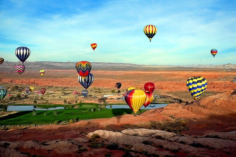 2020 PAGE ARIZONA LAKE POWELL BALLOON REGATTA