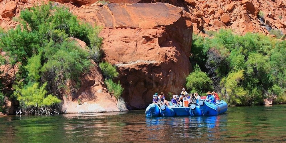 smooth water float on the colorado river