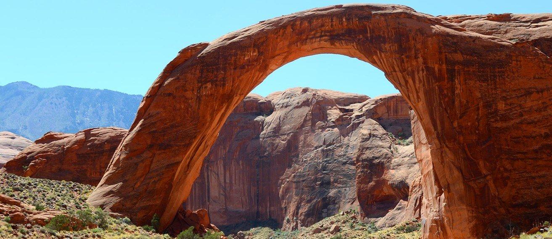Rainbow Bridge National Monument Glen Canyon Recreation Area Lake Powell