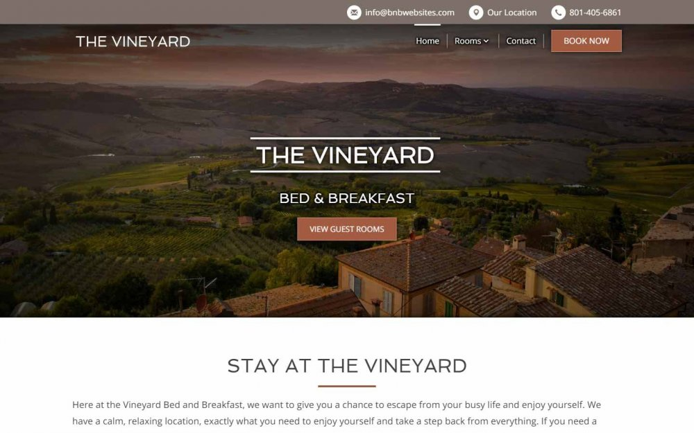 The Vineyard Design