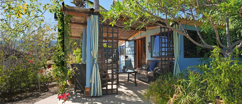 Casa Azul exterior at Villa del Faro
