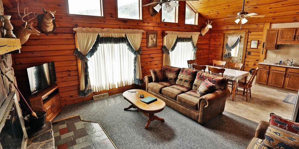 A-Frame Family Room