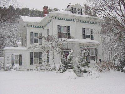 Ipswich Inn exterior winter