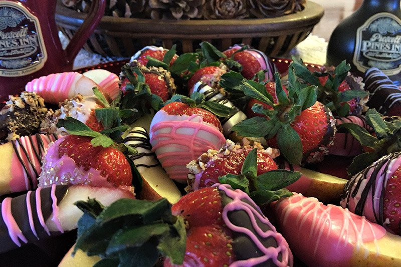 Platter of Chocolate Covered Strawberries