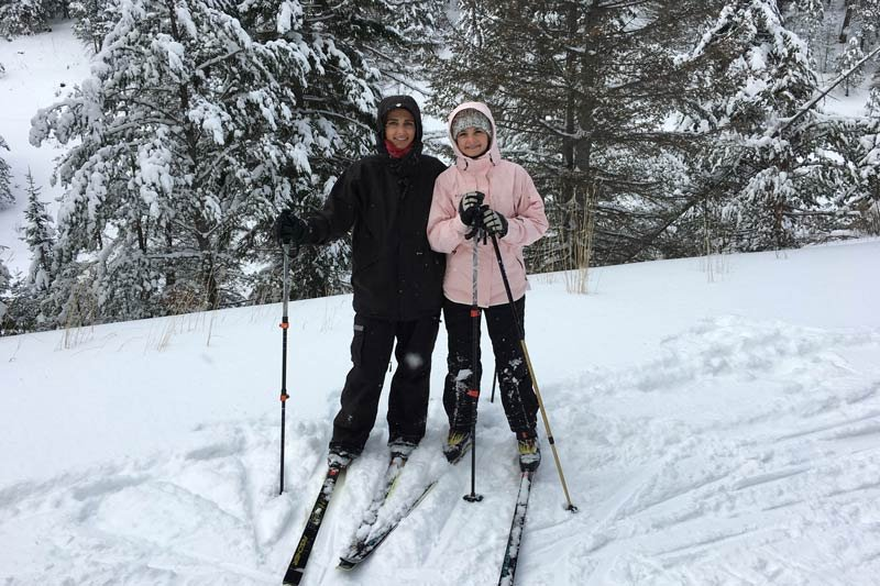 Cross Country Skiing at White Mountains Adventures