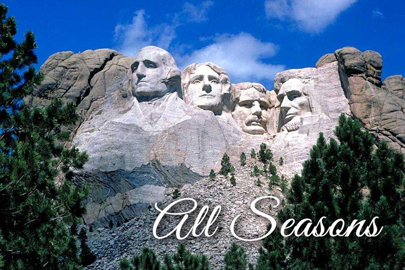 Summer Creek Inn All Seasons attractions Mount Rushmore