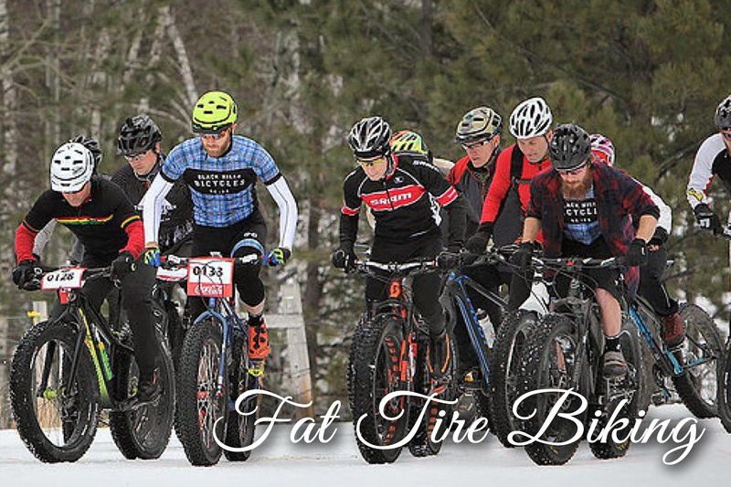 Fat tire biking race