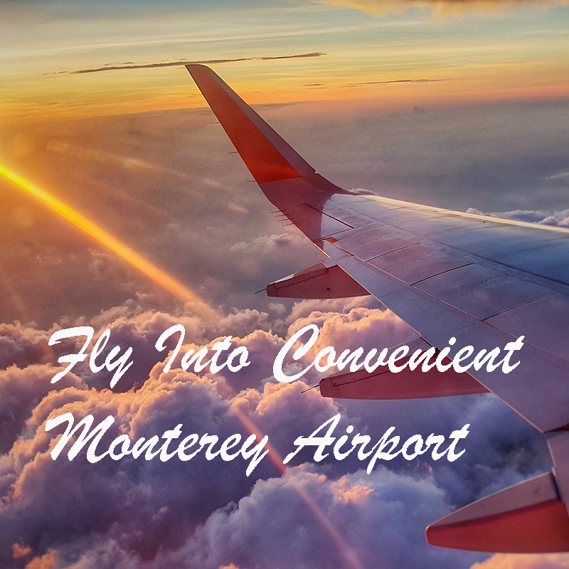 Fly into convenient Monterey Airport