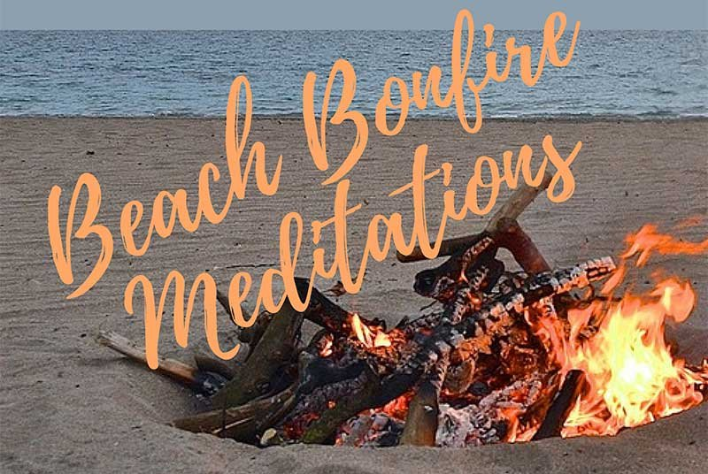 Carmel Beach Bonfire Meditation