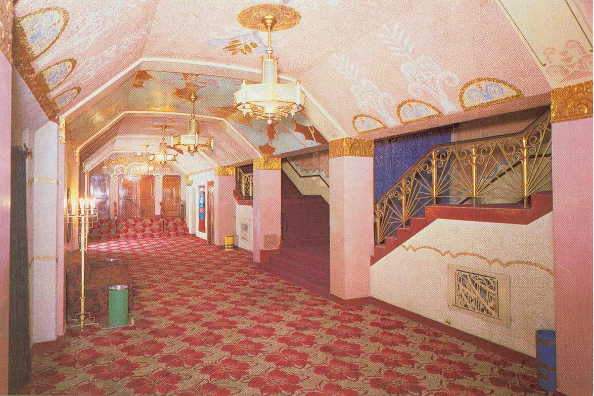 Hallway in the Washoe Theater
