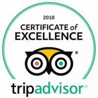 TripAdvisor 2018 Certificate of Exellence