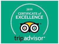 TripAdvisor 2019 Certificate of Exellence