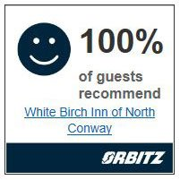 Orbitz 100% recommended Award