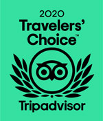 TripAdvisor's Travelers' Choice Award 2020