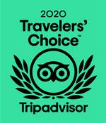 TripAdvisor's Travelers' Choice Award 2020