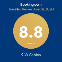 Booking.com Guest Review Award 2020 8.8 out of 10