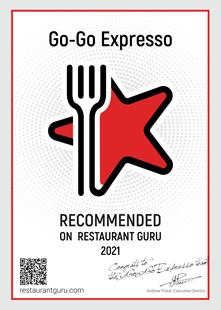 Restaurant Guru Award 2021