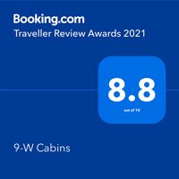 Booking.com Guest Review Award 2021 8.8 out of 10