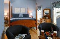 four poster oak bed