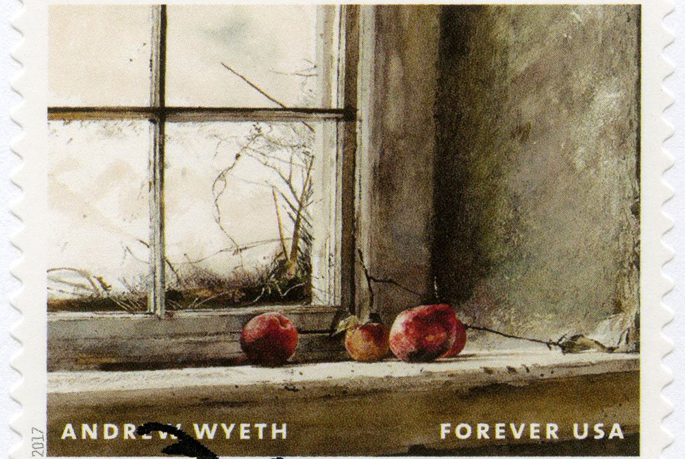 Apples by a window
