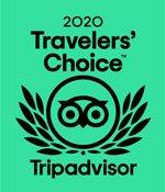 Travelers Choice Award 2020 from Tripadvisor