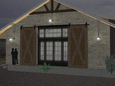 Hillside at Red Rock Event Center exterior digital rendering