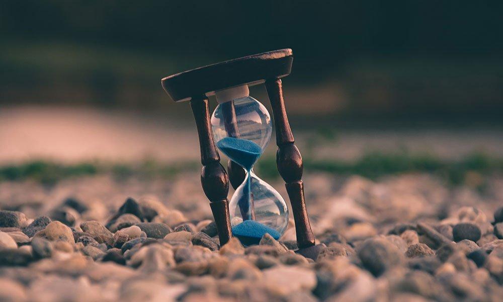 An hourglass